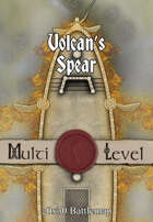 30x20 Multi-Level Battlemap - Volcan's Spear