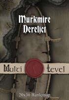 30x20 Multi-Level Battlemap - Murkmire Derelict