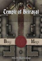 30x20 Battlemap - Temple of Betrayal