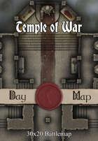 30x20 Battlemap - Temple of War