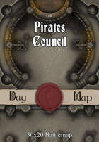 30x20 Battlemap - Pirates Council