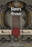 Slavers Arenas | 30x20 Battlemaps [BUNDLE]