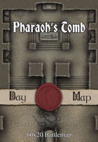 60x20 Battlemap - Pharaoh's Tomb