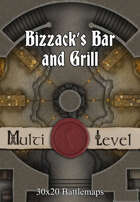 30x20 Multi-Level Battlemap - Bizzack's Bar and Grill