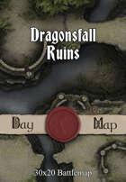 30x20 Battlemap - Dragonsfall Ruins
