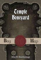 30x20 Battlemap - Temple Boneyard