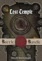 Lost Temple   30x20 Battlemaps [BUNDLE]
