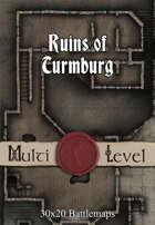 30x20 Multi-Level Battlemap - Ruins of Turmburg