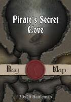 30x20 Battlemap - Pirate's Secret Cove