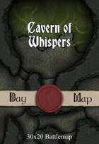 30x20 Battlemap - Cavern of Whispers