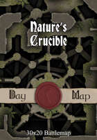 30x20 Battlemap - Nature's Crucible