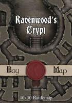 40x30 Battlemap - Ravenwood's Crypt