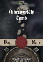 30x20 Battlemap - Otherworldly Tomb