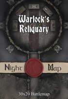 30x20 Battlemap - Warlock's Reliquary