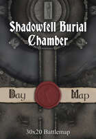 30x20 Battlemap - Shadowfell Burial Chamber