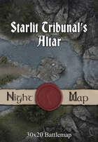 30x20 Battlemap - Starlit Tribunal's Altar
