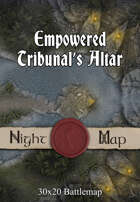 30x20 Battlemap - Empowered Tribunal's Altar
