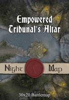 30x20 Battlemap - Empowered Tribunal's Altar