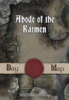 30x20 Battlemap - Abode of the Ratmen