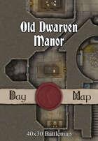 40x30 Battlemap - Old Dwarven Manor