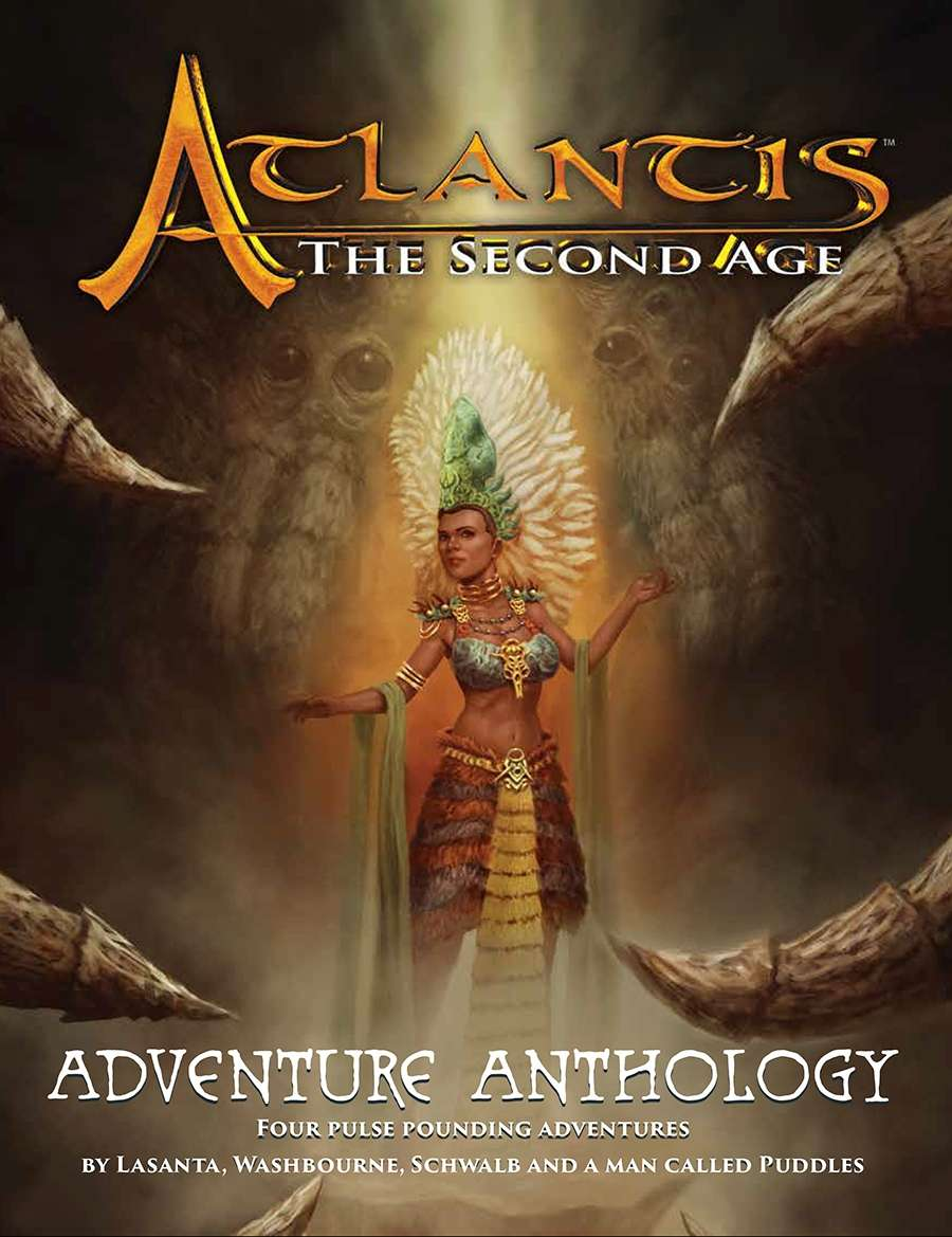 Adventure Anthology: Atlantis RPG (T.O.S.) -  Khepera Publishing
