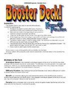 GODSEND Agenda D6 Booster Deck