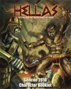 HELLAS: Sample Characters