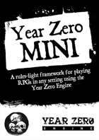 Year Zero Mini Playtest