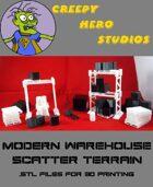 Modern Warehouse Terrain .stl's