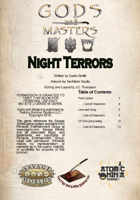 Gods and Masters: Night Terrors