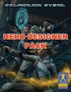 Extinction Event: Hero Designer Pack