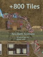 Apocalyptic Americana: Digital Tileset