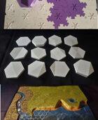 HexT Grassland Tiles and Puzzle Base