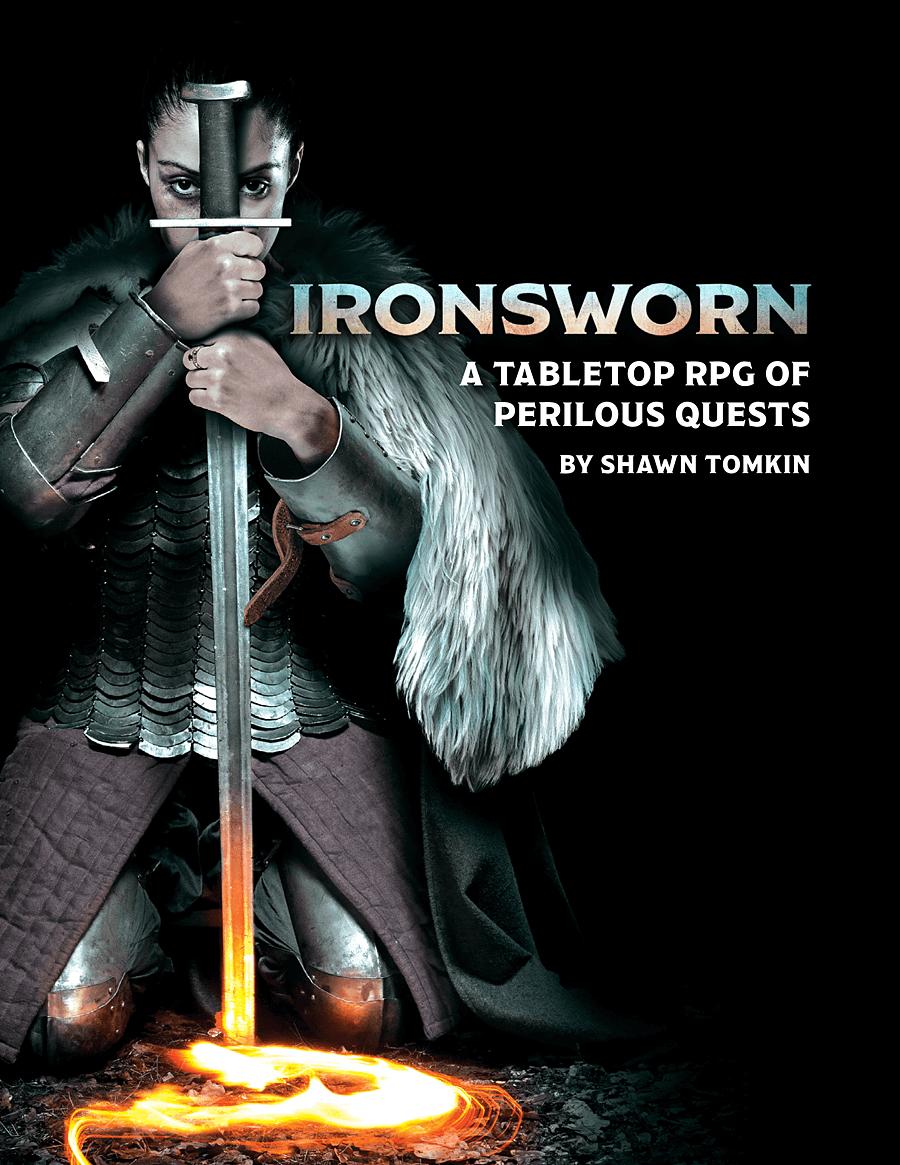 Ironsworn - Shawn Tomkin | DriveThruRPG.com