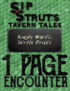 Kingly Wares, Serfly Prices: A 1-Page Encounter