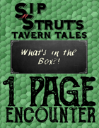 What's in the Box?!: A 1-Page Encounter