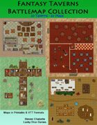 Fantasy Taverns Battlemap Collection