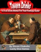 Tavern Drinks - 10 Fun Drink Menu Handouts For Your Fantasy Tavern Adventures