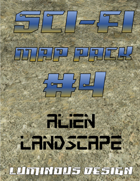 Sci-fi Map Pack #4: Alien Landscape
