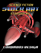 Sci-fi Stock Art Starship #4