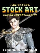 Fantasy Stock Art #1: Human Adventurer
