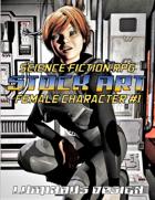 Sci-Fi Stock Art Female Character #1