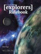 [explorers] Core Rulebook - Print Edition