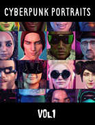 Cyberpunk Portraits Vol. 1