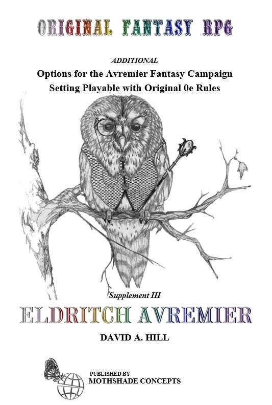 Eldritch Avremier: Supplement III