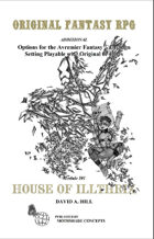 House of Illthrix Adventure Module
