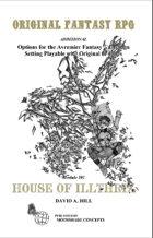 House of Illthrix Adventure Module