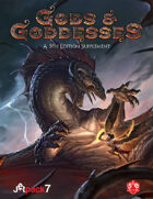 Gods and Goddesses, a 5th Edition Supplement