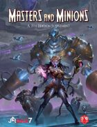 Masters and Minions, a 5th Edition Supplement by Jetpack7