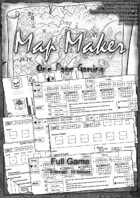 Map Maker Full Game(Printer friendly, French rule is available)